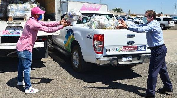 Arranca Gobernador programa de Apoyo Alimentario por Covid-19