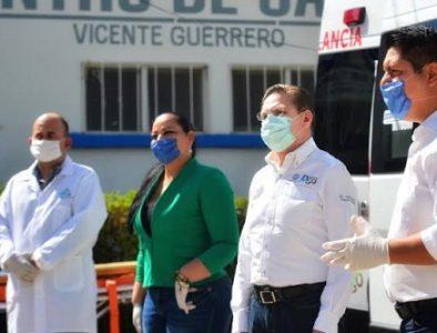 Centros de Salud de Vicente Guerrero y Nombre de Dios reciben ambulancias