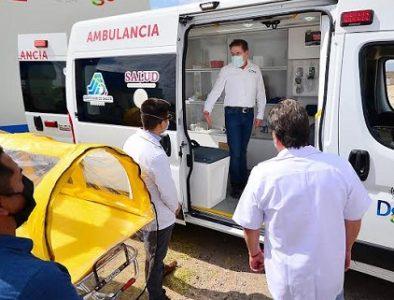Más equipamiento médico para El Salto, Simón Bolívar y Santa Clara