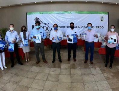 Apoya Esteban a personal de la Salud en Lerdo y Gómez Palacio