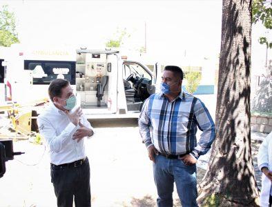 Reconoce Daniel Sifuentes apoyo estatal para mejorar servicios de salud