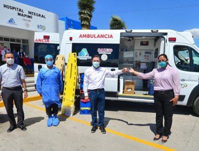 Fortalece Gobernador equipamiento médico en Mapimí