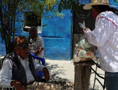 Gobierno municipal de Cuencamé entrega 60 toneladas de apoyos alimentarios