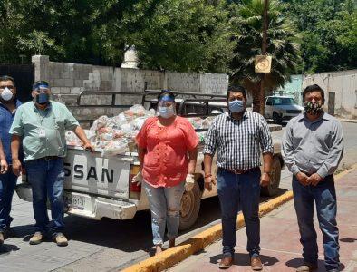 Entrega Nazas más de dos mil apoyos alimentarios ante contingencia