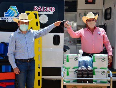 Recibe Mezquital otra ambulancia para hospital de La Guajolota