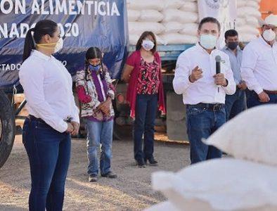 Lleva Aispuro apoyos emergentes para Tlahualilo y Mapimí