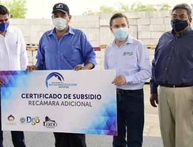 Arranca programa 'Autoconstrucción Asistida' para 200 familias
