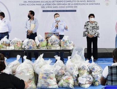 Entrega Aispuro más de 10 mil paquetes alimentarios en Gómez Palacio y Lerdo