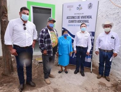 Más y mejor infraestructura para habitantes de Pánuco de Coronado: Aispuro