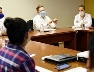 Gobernador y Alcaldes laguneros coordinan nuevas estrategias para contener pandemia