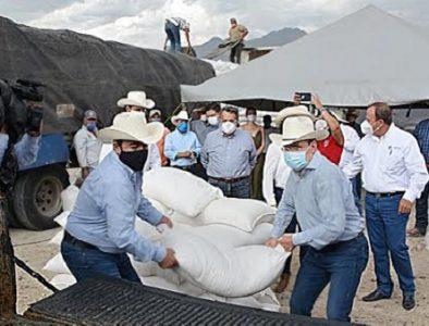 Gobernador supera meta de apoyo a productores ganaderos en 39 municipios