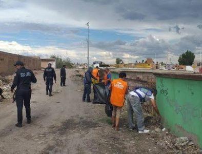Realizan trabajo comunitario 119 personas que fueron detenidas durante esta contingencia sanitaria