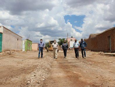 Alcalde de Guadalupe Victoria supervisa obras importantes en distintas comunidades