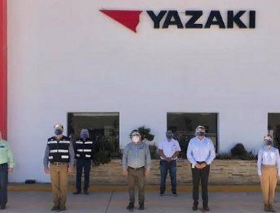 Supervisan que Yazaki de Guadalupe Victoria cumpla con medidas sanitarias