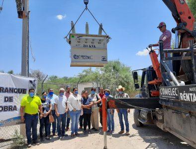 Rehabilita Nazas pozo de agua potable en Santa Teresa de la Uña