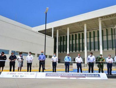 Aispuro pone en marcha el nuevo Hospital General de La Laguna