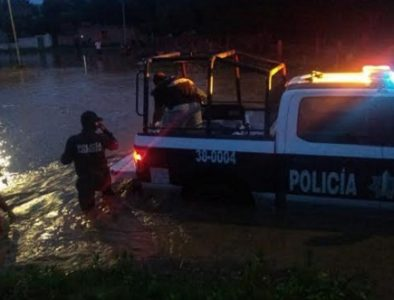 Gobierno de Vicente Guerrero brinda apoyo por afectaciones a causa de las lluvias