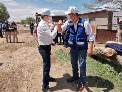 Reconoce Herrera Aviña el apoyo de Aispuro en Vicente Guerrero