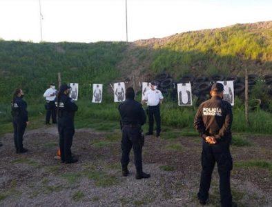 DMSP continúa capacitando a los elementos operativos en campo de tiro