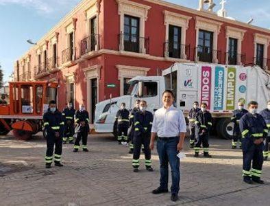 Orlando Herrera cumple su compromiso de crear un Escuadrón de Limpieza