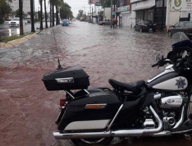 DMSP apoya con cierres temporales de calles por las precipitaciones pluviales