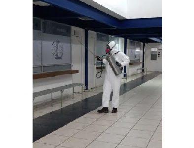 DMSP sanitiza todas sus estaciones