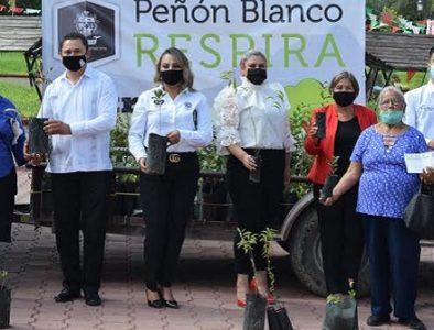 Peñón Blanco se une a la campaña 'Durango Respira'