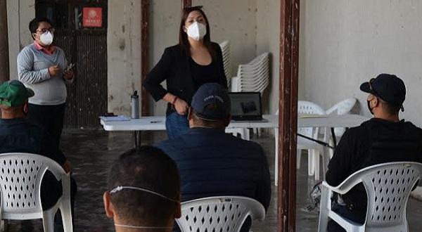 Peñón Blanco imparte taller sobre feminicidio a los elementos de Seguridad Pública