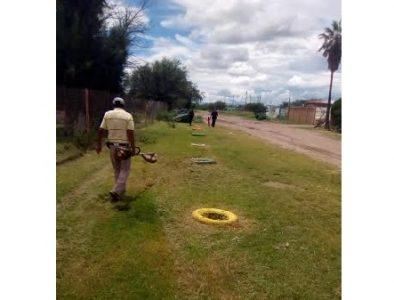 Continúan trabajos de limpieza en Poanas
