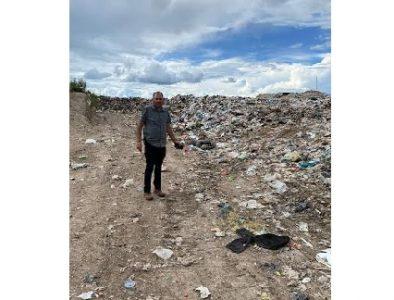 Para cuidar el medio ambiente, realizan trabajos en el basurero municipal de Poanas