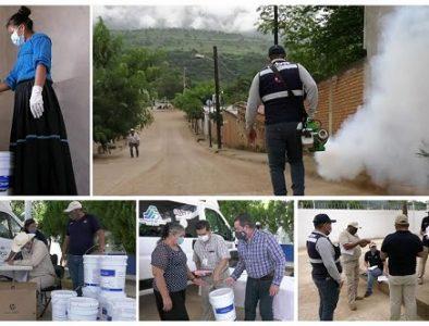 Refuerza SSD acciones preventivas por dengue en Mezquital