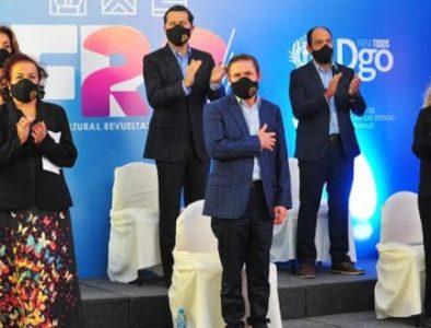 Aispuro inaugura 'Festival Cultural Virtual Revueltas 2020'