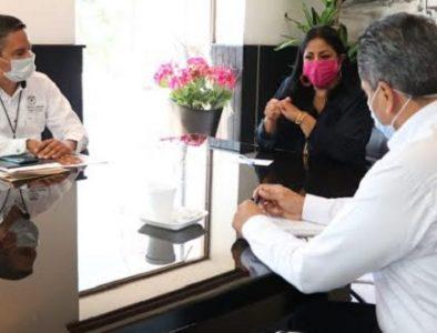 Pide Luly Martínez fortalecer el servicio del IMSS en Cuencamé