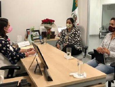 Luly Martínez gestiona ante la SRE una oficina de Enlace para Cuencamé