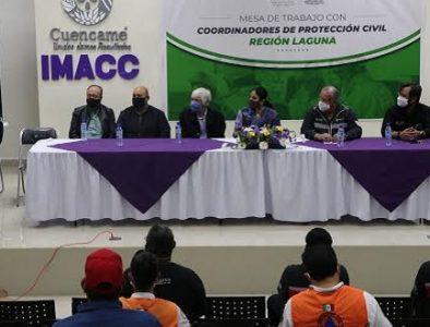 Realizan en Cuencamé una mesa de trabajo de vinculación Conagua-CEPC