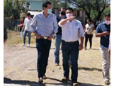 Secretario General de Gobierno visita Vicente Guerrero