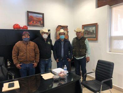 Alcalde de Súchil se reúne con Presidente de la Unión Ganadera Regional de Durango
