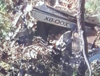 Tres muertos en accidente aéreo ocurrido en Canelas