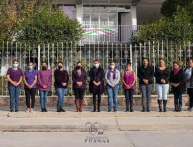 Conmemora Poanas el Día Internacional de la Eliminación de la Violencia contra la Mujer