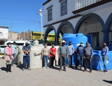 Continúa entrega de material subsidiado en Poanas