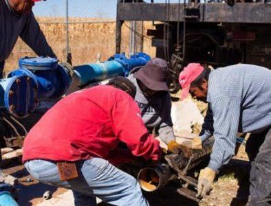 Instalan bomba en pozo de Poanas