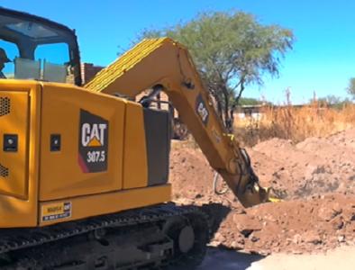 APASPO inicia instalación de red de drenaje y alcantarillado en colonia Rubén Jaramillo