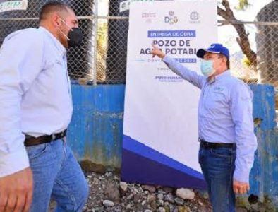 Entrega Gobernador infraestructura hidráulica en Canelas