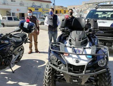 Recibe Nuevo Ideal patrulla y equipamiento
