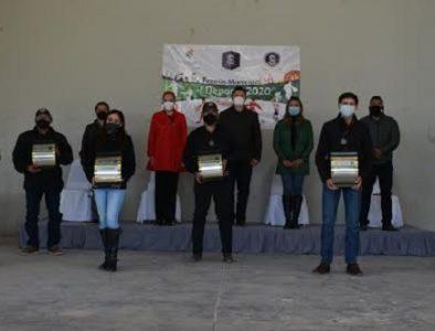 Entrega Peñón Blanco el Premio Municipal del Deporte 2020