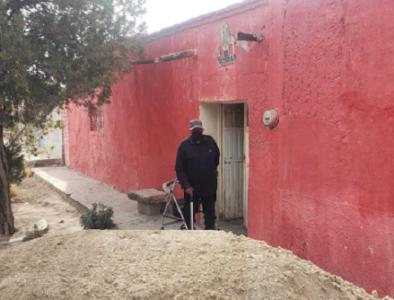 Familia de la comunidad Damián Carmona recibe apoyo del Alcalde de Poanas