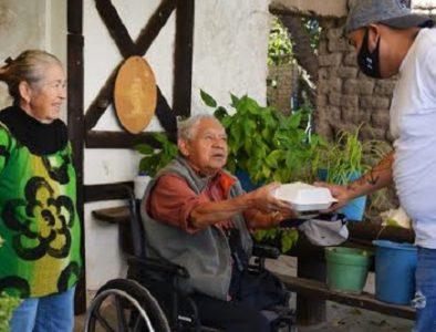 DIF Poanas implementa programa de alimentación para personas mayores