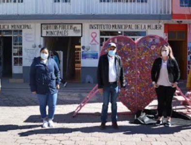 Exitosa, recolección de tapas de plástico en Poanas