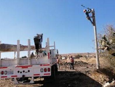 Electrificación para 8 asentamientos más: Gobierno municipal de Durango