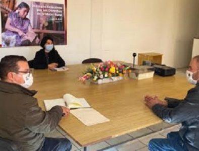 Alcalde de Poanas continúa realizando gestiones para beneficio de los habitantes